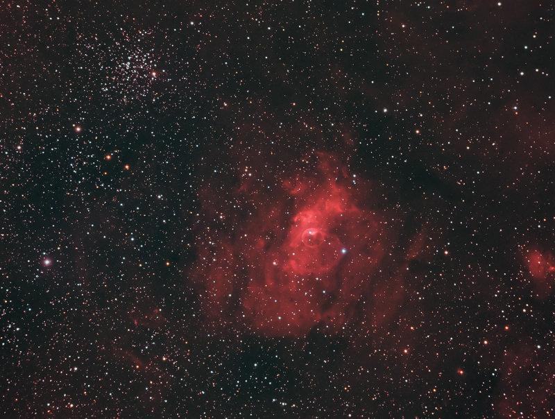 M52 - Bubble Nebula