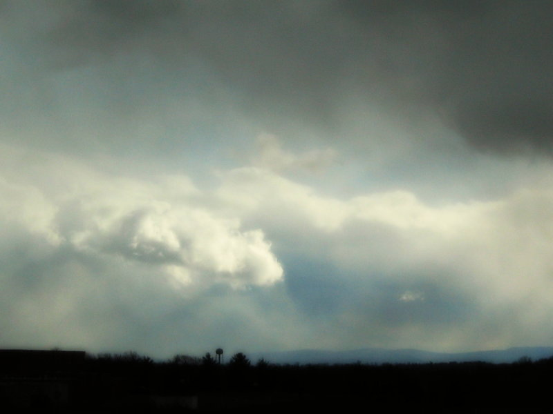 Storm Clouds over the Blue Ridge