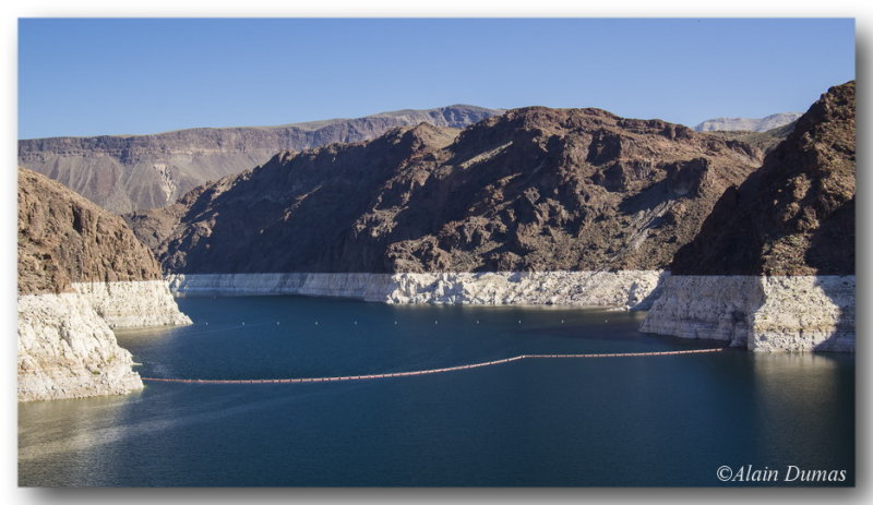 Part of Lake Mead.