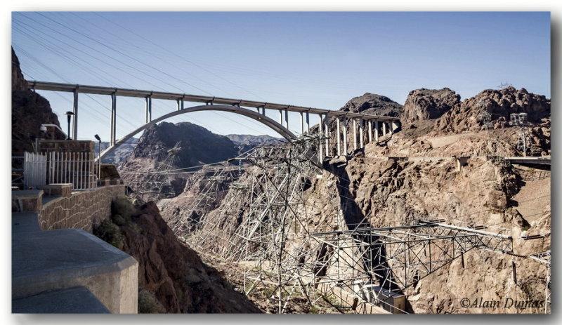 Memorial Bridge from the Hoover Dam Access Road.
