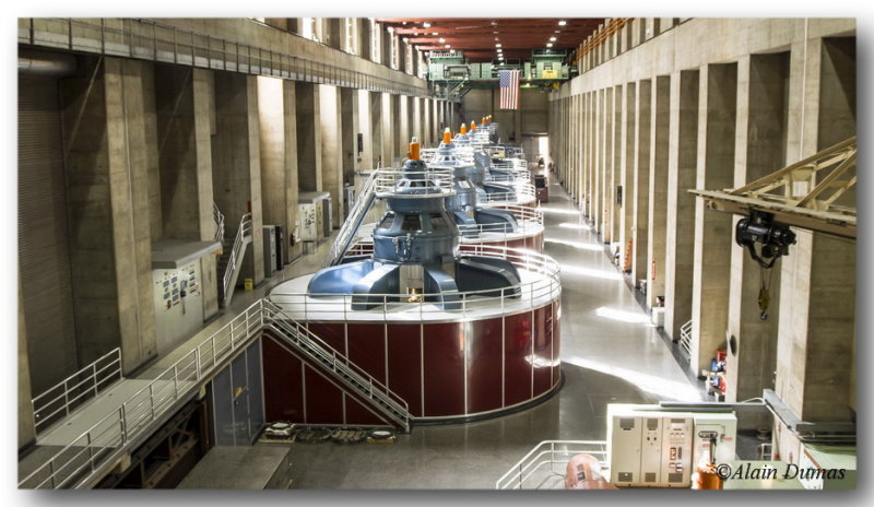 Another view of the generators room.
