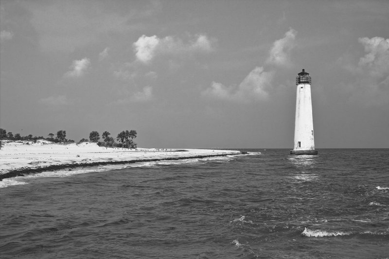 Little St. George Lighthouse - Then