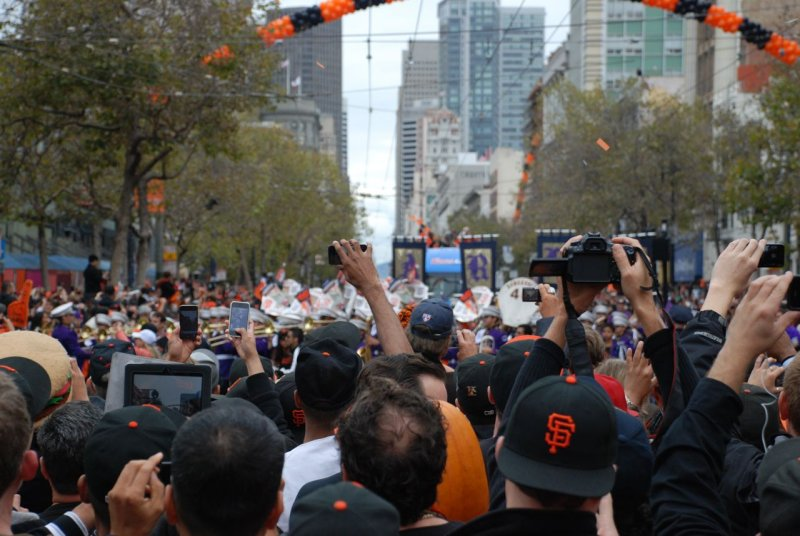 Capturing the SF Giants World Series Champions Victory Parade