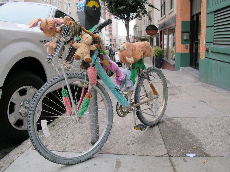 Plush Bike