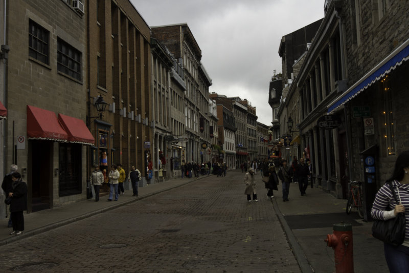montreal, old port area