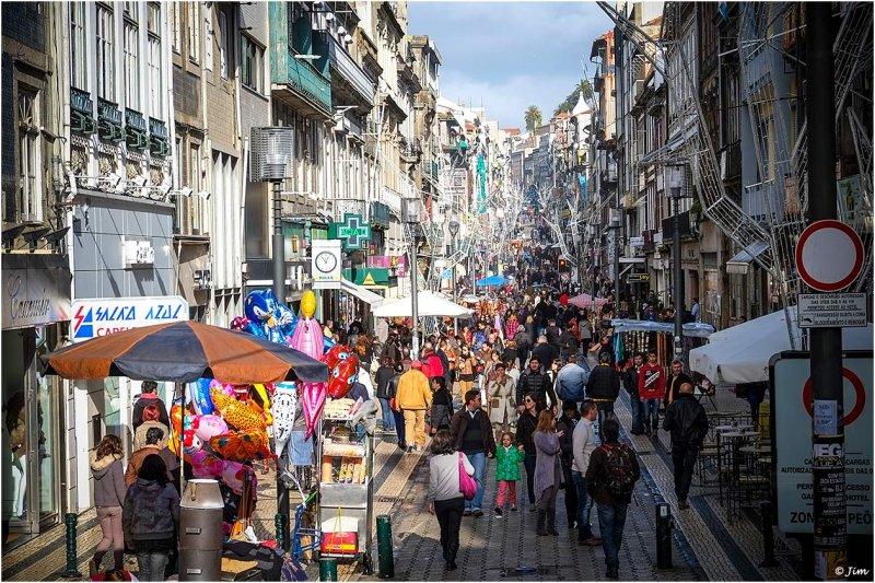 Santa Catarina Street, Porto