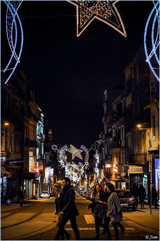 Night Lights at Christmas Time