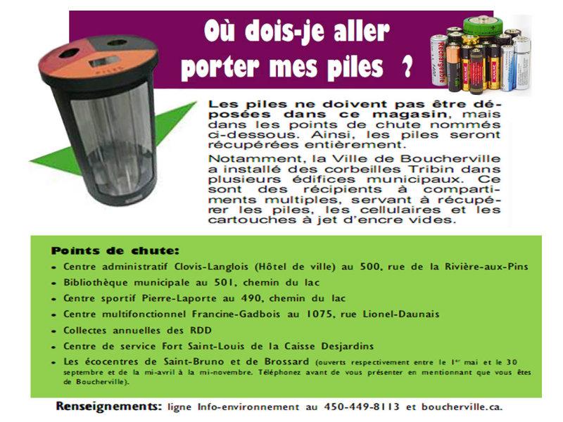 SOS Piles Boucherville