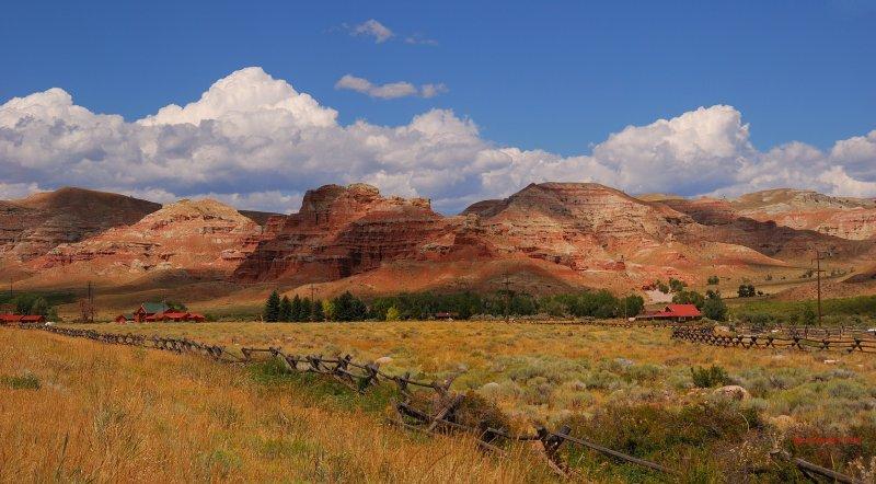 Wyoming pastel rock country