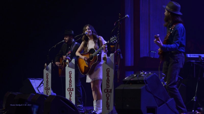 KACEY MUSGRAVES  DEBUT AT THE GRAND OLE OPRY