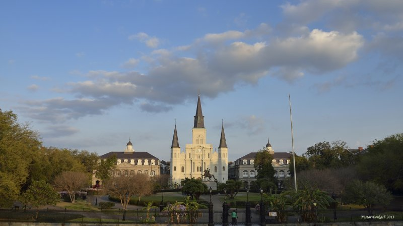 Jackson Square - St Louis Cathedral -French Quarters - New Orleans
