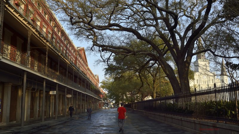 Jackson Square in the French Quarters, New Orleans