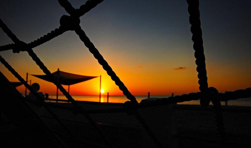 Sunrise at Santa Clara