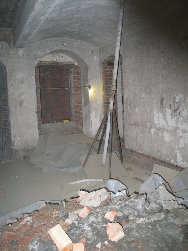 Citadel room during rehab