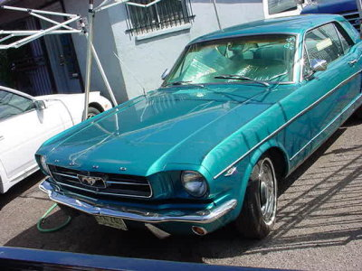 1965 Green Mustang<br>p/s a/c stick 54 K org.