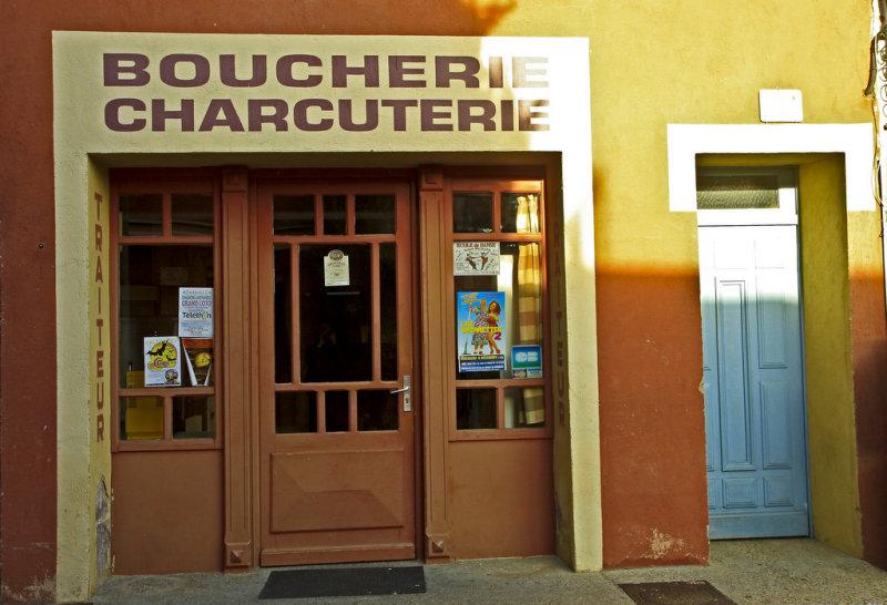 les rues de Roussillon