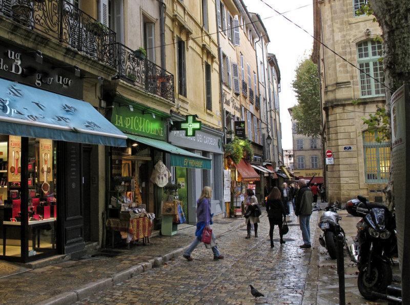 Aix-en-Provence après la pluie