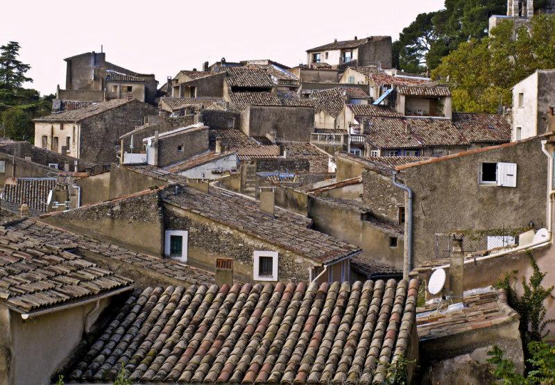 les toits de Cucuron