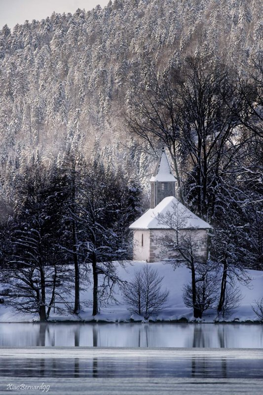 The Little Chapel for Christmas.