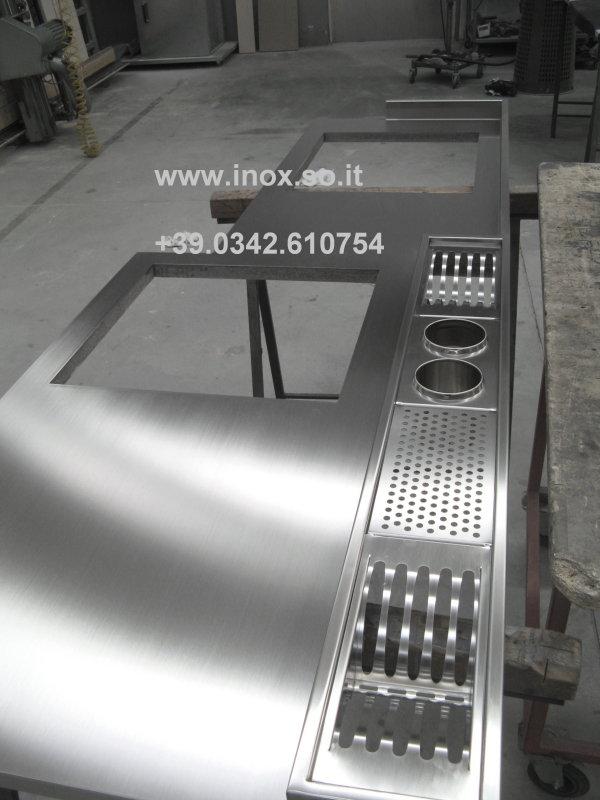 piano cucina acciaio inox su misura.jpg photo - Flavio photos at ...