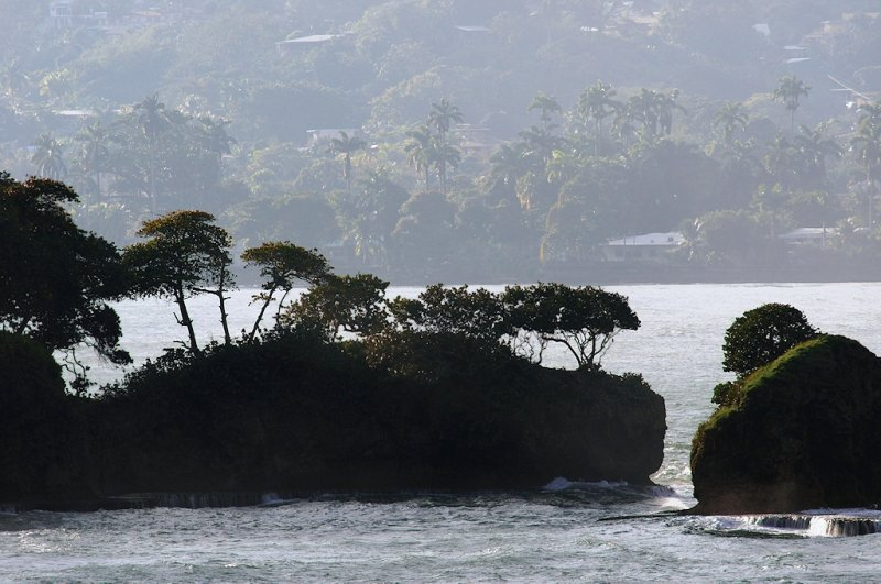 Uvita Island with Limon coast