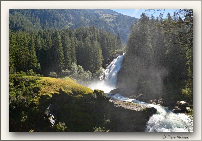 Austria  Krimmler waterfall