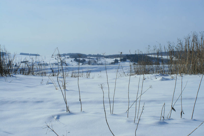 Winter in the Beauce