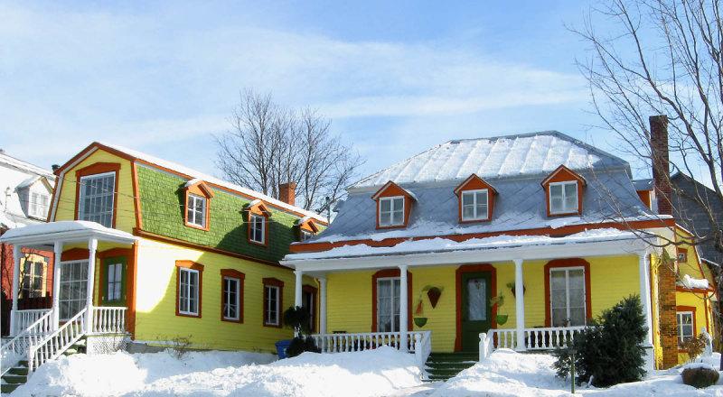 Maison typique de la Beauce