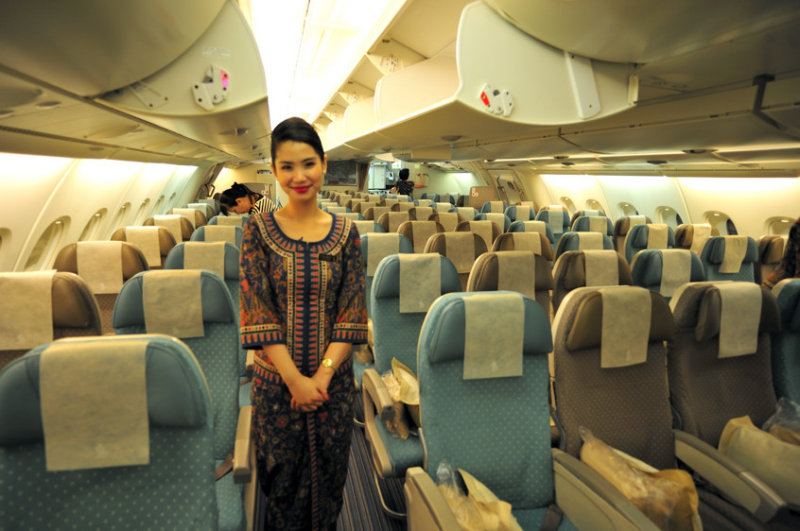 Inside A380, Upstairs