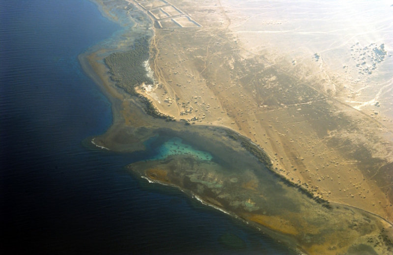 Sinai Coast Aerial