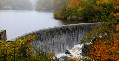 Lake Sequoyah Dam. Highlands, North Carolina