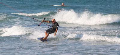 Parasurfing at Ponce Inlet