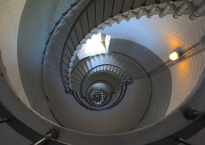 Spiral Staircase - Ponce Inlet Lighthouse