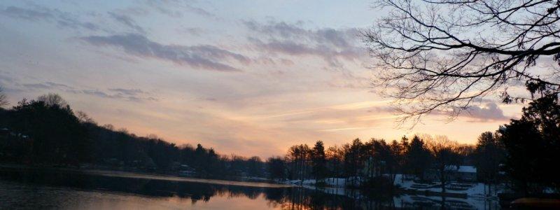 mohawk lake sunrise