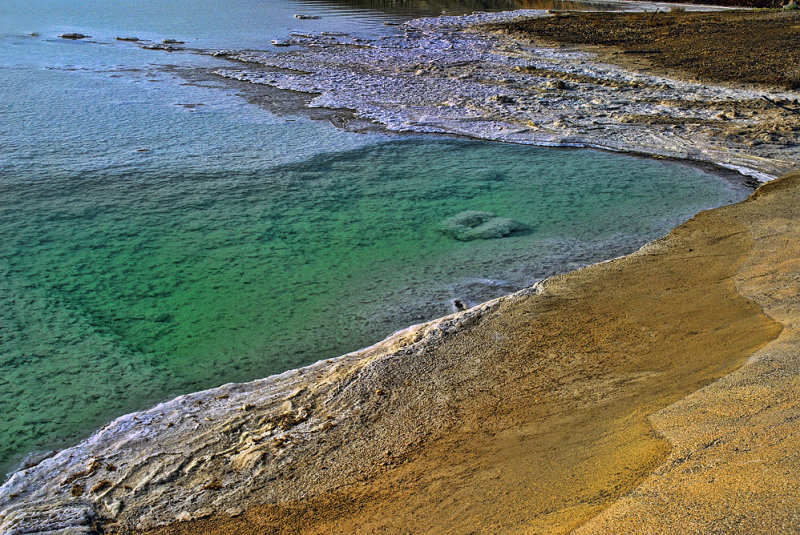 Dead Sea, live colors
