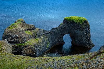 Raudanes sea arch