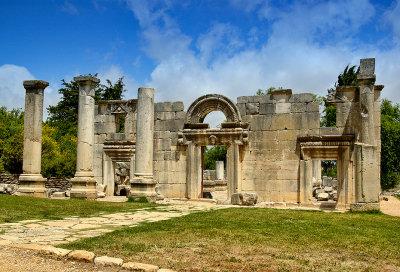 Ancient synagogue at Biram - Galilee
