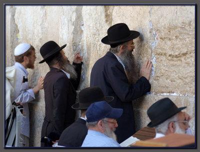 At the Wailing Wall