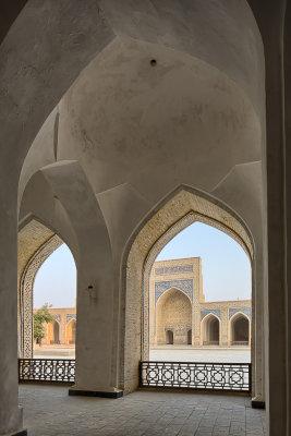 Kalon Mosque interior - Uzbekistan