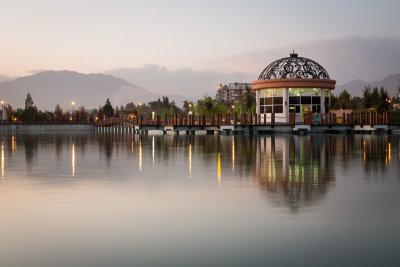 Dushanbe Flagpole Lake -  Tajikistan