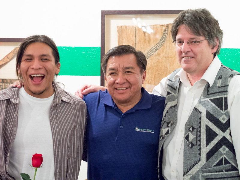 Ben Shendo with Senator Shendo and Dan McDonald