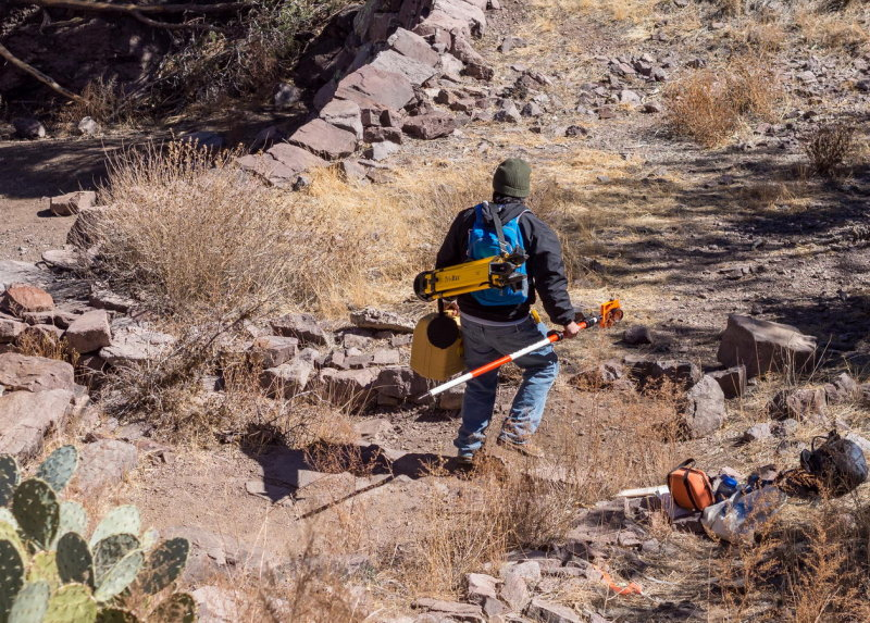 Setting up a total station, Chris Diaz - Step 1