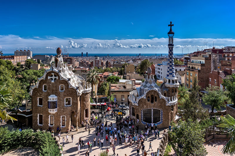 View from the Park Guell