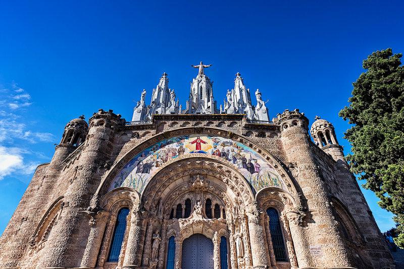 Tibidabo  -Temple de Sagrat Cor