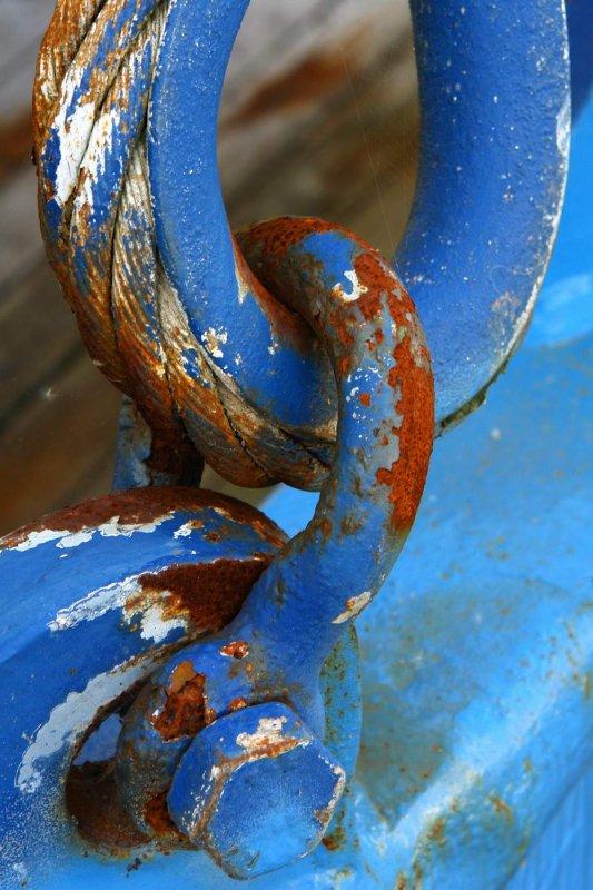 Blue chains