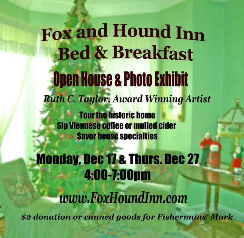 Fox and Hound Bed and Breakfast December 2012