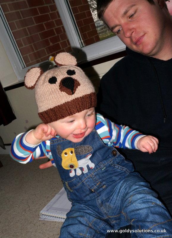 13th Jan 2013 - new hat