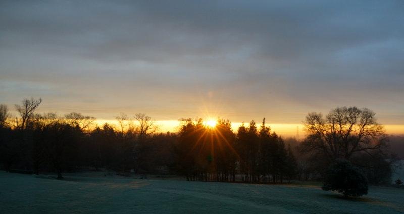 17th Jan 2013 - Sunrise
