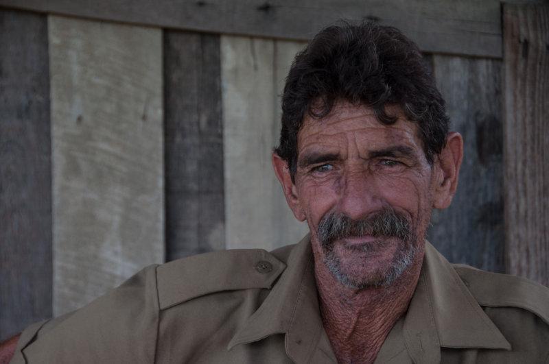 <B>Portrait of a Tobacco Worker</B> <FONT SIZE=2>Cuba - May, 2012</FONT>