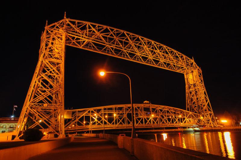 Canal Bridge in Duluth, MN